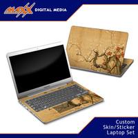 Maxx Garskin Sticker Skin Laptop Custom Set