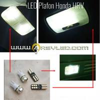 Paket isi 4 Lampu LED Plafon Kabin Honda HRV T10 Super Bright Mobil V2