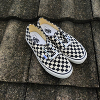 vans authentic dx anaheim checkerboard