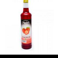 Marjan 460ml/ syrup Marjan/ sirop Marjan Strawberry plus bubble wrap
