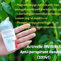 butuh deodorant roll on activelle invisible