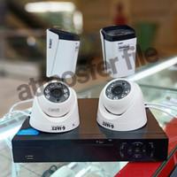PAKET CCTV GLENZ 4CH FULL HD 1080P LENGKAP DAN TINGGAL PASANG