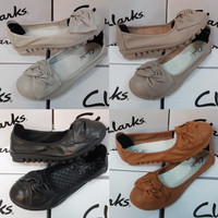 Sepatu Clarks Ulir Flat / Clark / Clarks Flat shoes / Clarks Leather