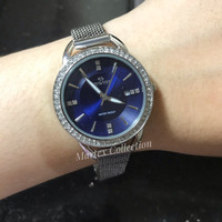 Jam Tangan Wanita Hegner Original Garansi Silver L1638