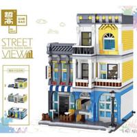 QL 0934 Modular Street Town Coffee Store