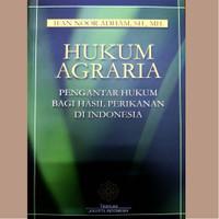 Hukum Agraria Pengantar Hukum Bagi Hasil Perikanan di Indonesia