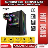 Armaggeddon Kagami K2 Excellent ATX Gaming PC RGB Lightning Effect