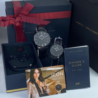 jam tangan Couple /jam couple Paket free set sesuai foto terbaru