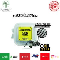 COIL GEAR FUSED CLAPTON TMNI80 4PCS AUTHENTIC