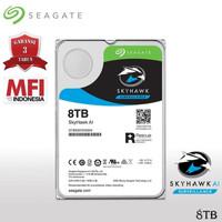 Seagate SkyHawk 8TB AI HDD / Hardisk Surveillance 8TB SATA 7200RPM