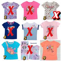 Kaos anak perempuan 6 tahun garanimals baju anak santai branded