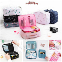 Cosmetic Pouch Make Up Organizer Korean Style / Tas Kosmetik Strap