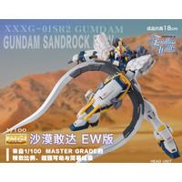 BANDAI Model MG 1/100 New Mobile Gundam Wing EW Sandrock Gundam Figure