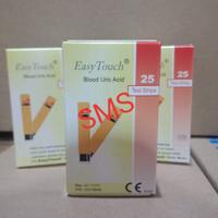 Strip Easy Touch Uric Acid/Easytouch Asam Urat strips