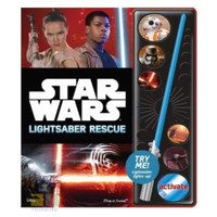 STAR WARS LIGHTSABER RESCUE Sound Board Book Buku Aktifitas Anak BBW
