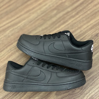 nike air force 1 triple black sepatu
