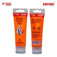 Acrylic Color Cat Akrilik Joyko TiTi ACC-75ML-3 Orange Color Warna