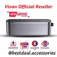 VIVAN VS10 Bluetooth Speaker Mega Bass Hi-Fi Waterproof IPX7 1800mAh