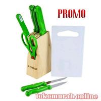 MurMer!! Promo Pisau Set Vicenza V920k hijau Limited