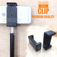 Holder U HP Clamp untuk Tongsis Tripod Monopod Holder C