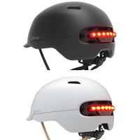 Xiaomi Smart Helmet Backlight Waterproof Smart4u - helm sepeda