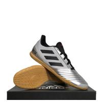 Sepatu Futsal Adidas Predator 19.4 IN Sala Silver F35630 Original BNIB