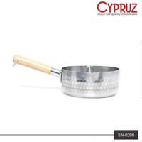 CYPRUZ SN-0208 Sauce Pan Aluminium Panci Saus