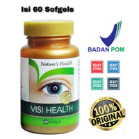 Nature's Health / Natures Health Visi Health / Vitamin Mata 60 Sofgels