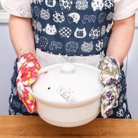 Sarung Tangan Tahan Panas Tebal Oven Glove Pelindung Tangan Dapur