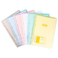 Colorful Dual Tie Slim File Binder Notebook A5 / Binder A5 / Binder