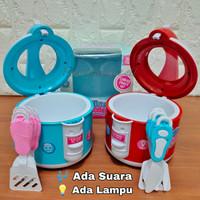 Mainan Rice Cooker Mini Lampu Suara Masak Masakan