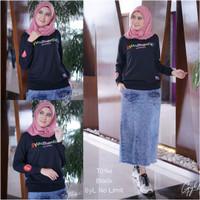 GYL - Atasan Baju Muslim Berbahan Commbad Premium 20sPLASTISOL