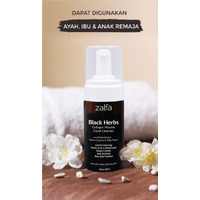 Zalfa Miracle Black Herbs Collagen Mousse Facial Cleanser