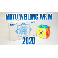 Rubik 3x3 Moyu Weilong WR M 2020 3x3 Stickerless Original