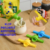Klip Segel Makanan Bumbu Dapur Serbaguna Food Sealing Clip Penjepit Ka