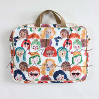 Laptop Bag Faces Ideku Idekuhandmade