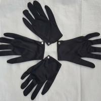 Sarung Tangan Kain Hitam Handmedical Black Formal Sarung Tangan - Hitam
