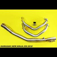 Pipa Header Knalpot Drake R9 not ProjectOne Kawasaki New Ninja 250 New