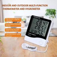 HTC-2 Jam Thermometer Hygrometer Digital Ruangan 3 Baris