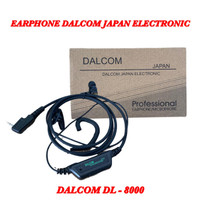HANDSFREE HEADSET EARPHONE HT DALCOM DL-8000 ORIGINAL