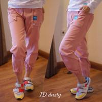 Jogger Demodiest Baby Canvas Celana Wanita Bahan Canvas Fit M-XL 09-09