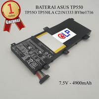 Baterai Asus TP550 TP550 C21N1333 Black