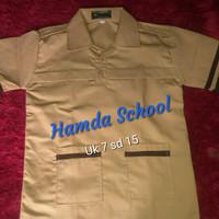 Seragam Sekolah Baju Pramuka Siaga lengan pendek untuk SD - 7 8