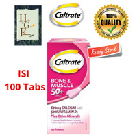 Caltrate Bone & Muscle 50+ years 100 Tablets