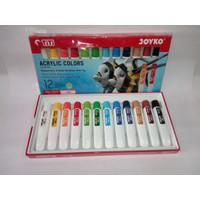 Cat Akrilik Titi Joyko 12 warna