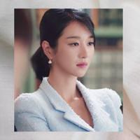 Anting wanita Korea Ko Mun Young It's Okay not to be Okay model 3