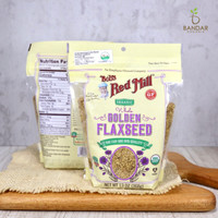 Whole Golden Flaxseed Organic 368gr - Bob's Red Mill