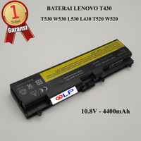 Baterai Lenovo Thinkpad T430 L430 L530 T530 W530 T520 Black