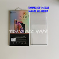 TEMPERED GLASS SIDE/EDGE GLUE 5D PREMIUM SAMSUNG NOTE 20 ULTRA