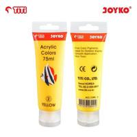 Acrylic Color Cat Akrilik Joyko TiTi ACC-75ML-2 Yellow Color Warna